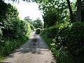 Tarmac section of Moor Close Lane - geograph.org.uk - 846195.jpg