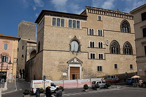 Tarquinia National Museum - The museum is housed in the Palazzo Vitelleschi.