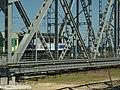 Tczew, lokomotiva na železničním mostě.JPG