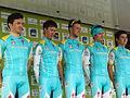 TdB 2014 - Équipe Astana Continental (1).jpg