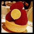 Tea at the Ritz... Highly recommend. -igerslondon -london -uk -tea -foodporn -raspberry -ritz -cake (8028007621).jpg