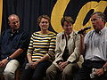Tedford, McKeever, Barbour, Montgomery at 2009 Coaches Tour in SJ.JPG