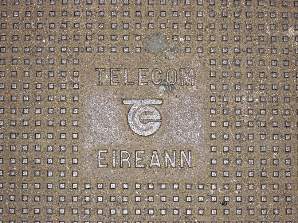 Telecom Eireann manhole