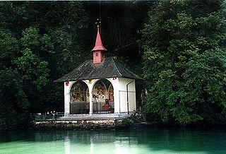Tellskapelle chapel in Switzerland