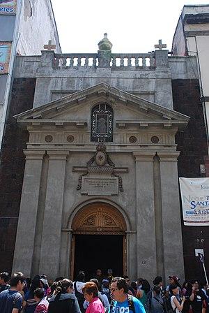 Melkite Greek Catholic Eparchy of Nuestra Señora del Paraíso in Mexico City - Image: Templo de Porta Coeli frente