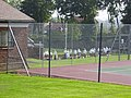 Tennis Court and bowling green Pelton Fell Memorial Park - geograph.org.uk - 245760.jpg