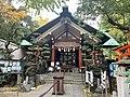 Tenso Jinja Shrine, Kameido Main.jpg