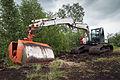 Terex Atlas excavator 190LC peat exploitation.jpg