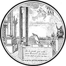 Estampe de la guillotine, « Et la garde qui veille aux Barrières du Louvre  n\u0027en défend pas les rois », durant la Terreur.