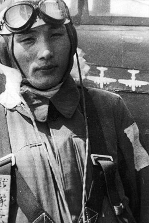 Imperial Japanese Army Air Service - Major Teruhiko Kobayashi, the IJAAF's youngest sentai squadron commander.