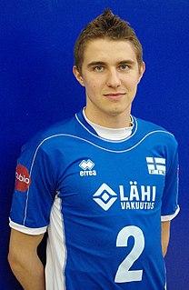 Eemi Tervaportti Finnish volleyball player