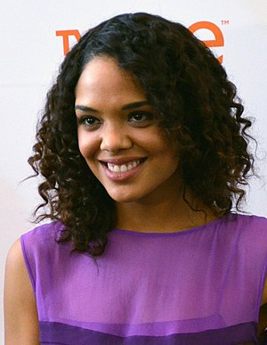 Tessa Thompson - Thompson at the 46th NAACP Image Awards Nominee Press Conference