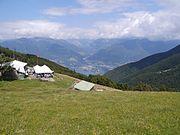 Tessin Alpe di Neggia 5 Passhöhe