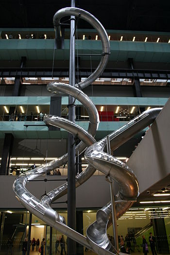 Test Site by Carsten Höller at the Tate Modern...