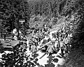Teufelshöhle 1944 with German artillery.jpg