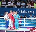 Teymur Mammadov at the awarding ceremony of the 2015 European Games 7.jpg