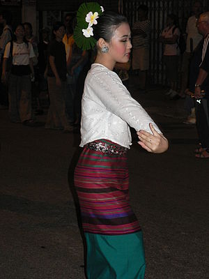 Northern Thai people - Young dancer, Chiang Mai