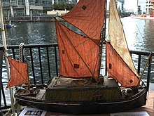 Thames sailing barge - Wikipedia