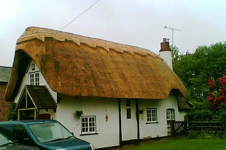 Cookhill - Image: Thatched cottage, Cookhill