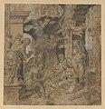 The Adoration of the Shepherds; verso- Sketches MET DP228695.jpg