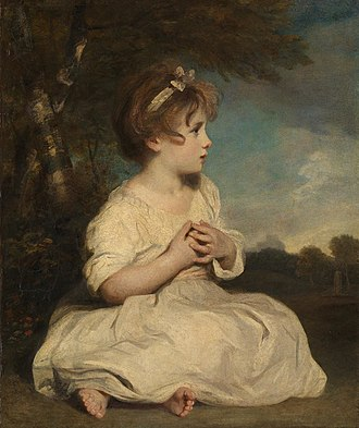 The Age of Innocence - The Age of Innocence The 1785 painting by Joshua Reynolds believed to have been the inspiration for the title of Wharton's novel