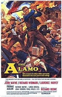 <i>The Alamo</i> (1960 film) 1960 American historical epic film directed by John Wayne