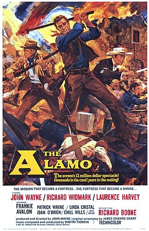The Alamo (1960 film) - 1960 Theatrical Poster by Reynold Brown