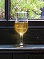 The Anchor Tap, East Street, Horsham; window with cider glass 02.jpg