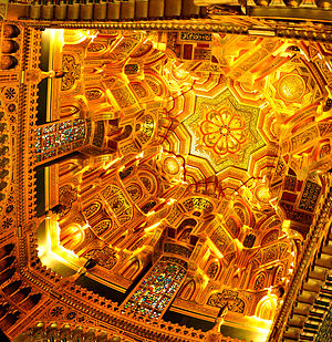 William Burges - The Arab Room ceiling – Cardiff Castle