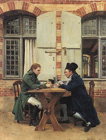 File:The Card Players - Ernest Meissonier.jpg