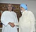 The Chief Minister of Odisha, Shri Naveen Patnaik meeting the Deputy Chairman, Planning Commission, Shri Montek Singh Ahluwalia for finalizing plan size for 2013-14 for the State, in New Delhi on June 04, 2013.jpg