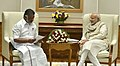 The Chief Minister of Tamil Nadu, Shri O. Panneerselvam calls on the Prime Minister, Shri Narendra Modi, in New Delhi on December 19, 2016 (2).jpg