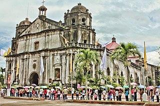 Naga Cathedral Church in Naga City, Philippines