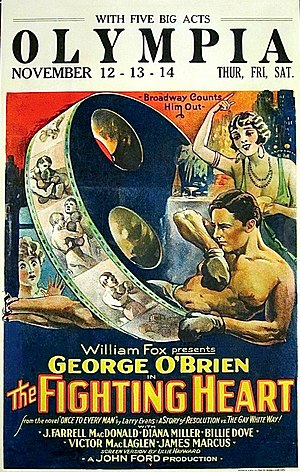 The Fighting Heart (1925 film) - Film poster
