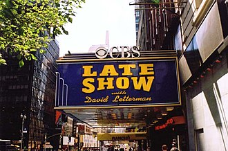 David Letterman - The Ed Sullivan Theater, where Late Show with David Letterman was recorded