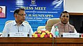"The Minister of State (Independent Charge) for Micro, Small & Medium Enterprises, Shri K.H. Muniyappa briefing the press on the recent initiatives for enhancing the efficiency of PMEGP"", in New Delhi. The Secretary.jpg"
