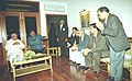 The Minister of State for Communications Shri Ashok Pradhan called on the Prime Minister Shri Atal Bihari Vajpayee alongwith a delegation from his constituency in New Delhi on January 18, 2004.jpg