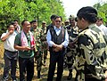 The Minister of State for Home Affairs, Shri Kiren Rijiju visiting the proposed Indo-Bangladesh border trade, at Kawrpuichhuah, in Tlabung, Lunglei district, Mizoram on May 27, 2015.jpg
