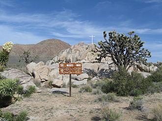 Mojave Memorial Cross - Image: The Mojave Cross