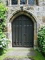 The Parish Church of Broughton St John the Baptist, Doorway - geograph.org.uk - 866633.jpg