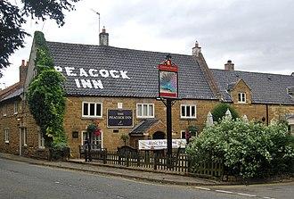 Redmile - Image: The Peacock Redmile