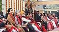 The President, Shri Ram Nath Kovind, the Vice President, Shri M. Venkaiah Naidu, the Prime Minister, Shri Narendra Modi and other dignitaries, at Rajpath, on the occasion of the 69th Republic Day Parade 2018, in New Delhi.jpg