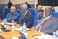 The Prime Minister Shri Atal Bihari Vajpayee attending the Executive Session of the Commonwealth Heads of Government Meeting (CHOGM)-2003 at Abuja, Nigeria on December 5, 2003.jpg