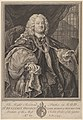 The Right Reverend Father in God, Dr. Benjamin Hoadly, Lord Bishop of Winchester, Prelate of the Most Noble Order of the Garter, Aet. 67. A.D. 1743 MET DP835456.jpg