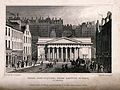 The Royal Institution with Edinburgh cityscape behind, Scotl Wellcome V0012609.jpg