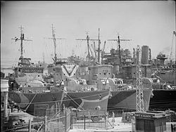 The Royal Navy during the Second World War A16764.jpg