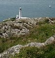The South Stack Lighthouse peeps above the cliff top - geograph.org.uk - 902611.jpg