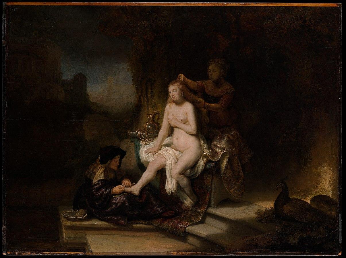 Bathsheba at her Toilette