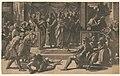 The death of Ananias - Raphael Urbinas, perugo da carpo. LCCN2008675430.jpg