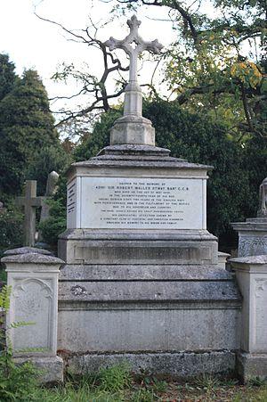 Robert Otway - The grave of Admiral Robert Otway, Kensal Green Cemetery